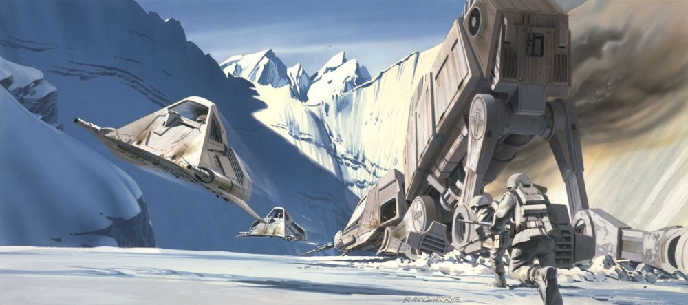 Ralph McQuarrie - Empire - 1