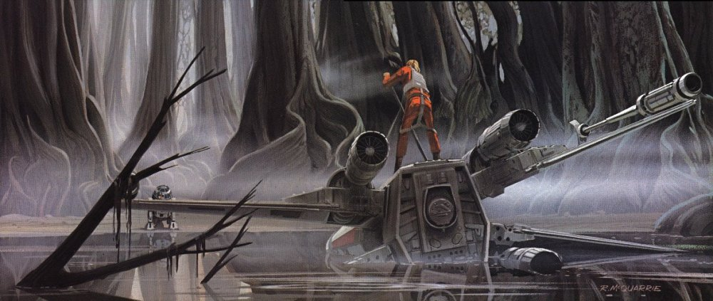 Ralph McQuarrie - Empire - 3